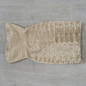 NWT Herve Leger Sequin bandage dress